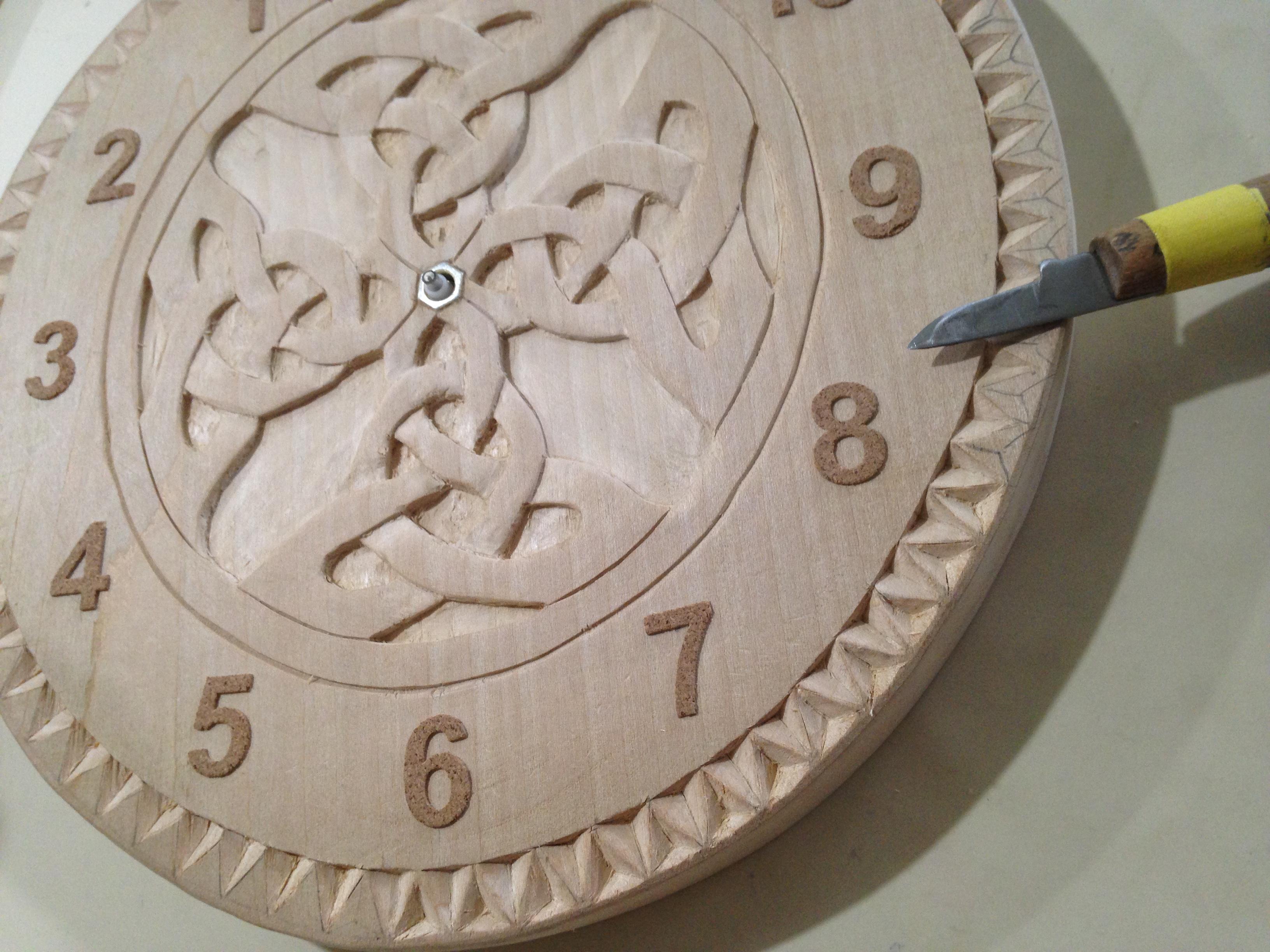 Horloge inversee
