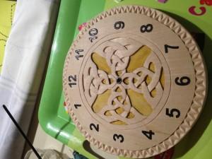horloge inversee 12