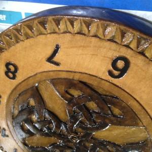 horloge inversee 17